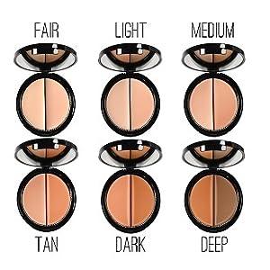 Concealer For Black Women, Concealer Palette, Cover Dark Circle, Hyper Pigmentation, Acne Scars