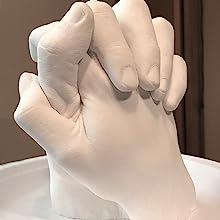 couple hand casting kit