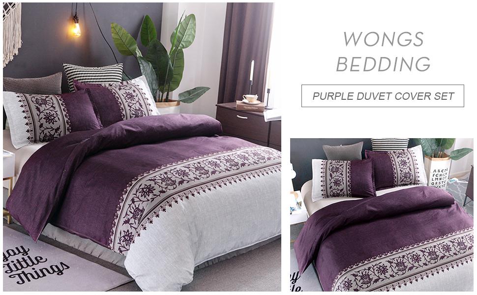 Bedding Set Purple