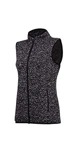 fleece vest for women