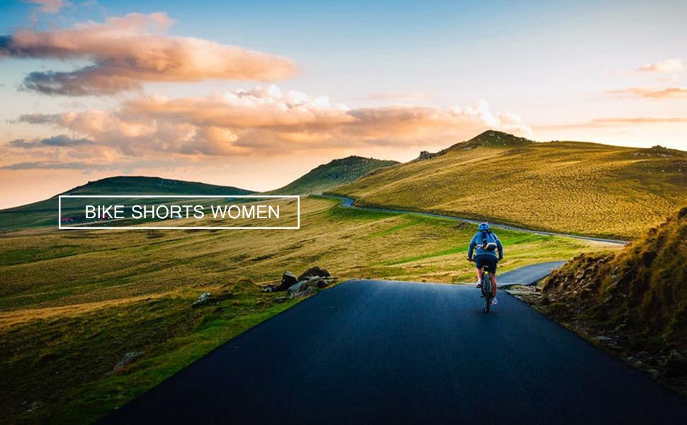 Women's Cycling Padded Shorts UPF 50+
