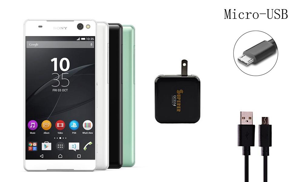 Amazon.com: Rápido QC 2.0 adaptador de cargador para Sony ...