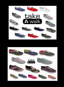 Womens Fashion Canvas Slip-On Shoe