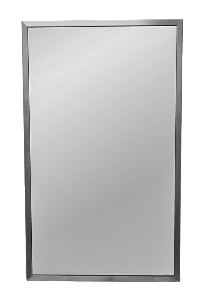 Brey-Krause Commercial Restroom Mirror 18 inches Wide