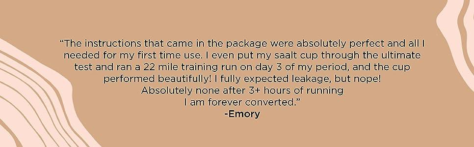 Amazon.com: Taza menstrual de Saalt, diseño premium, taza de ...