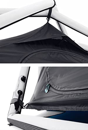 Key Components  sc 1 st  Amazon.com & Amazon.com : Heimplanet The Cave Inflatable Geodesic 3-Person 3 ...