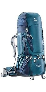 c55c8b7fad3 Amazon.com   Deuter AirContact Pro 70 + 15 - Trekking Backpack with ...