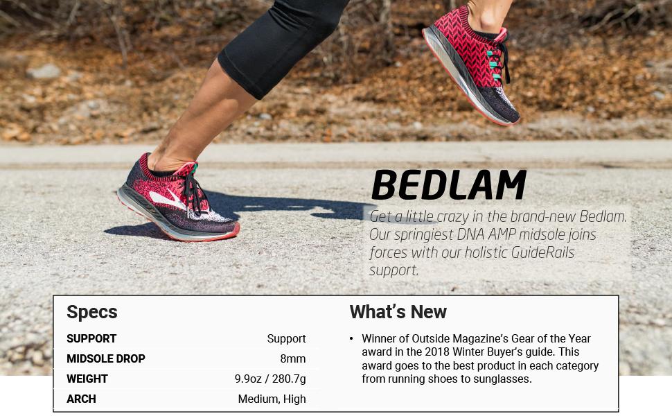 Amazon.com | Brooks Bedlam | Road Running