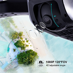 1080P 120FOV 45 adkustable angle