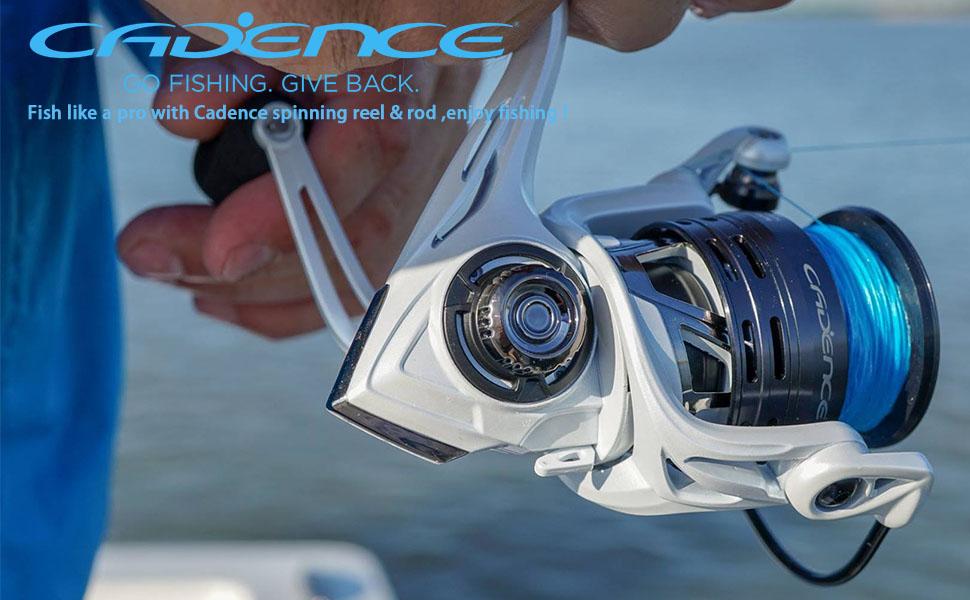 spinning reel  cadence  spinning reels fishing reel  fishing reels