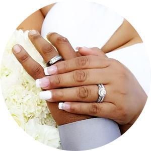 Amazon Com Newshe Wedding Rings For Women Engagement Ring Set 925