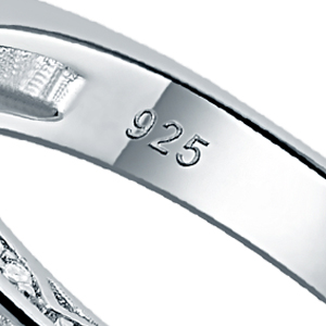 newshe wedding band ring set
