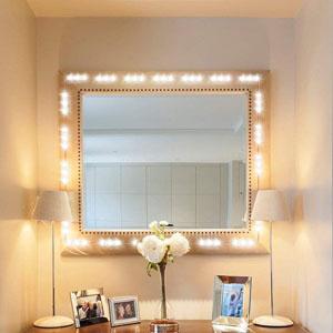 white led mirror lighs