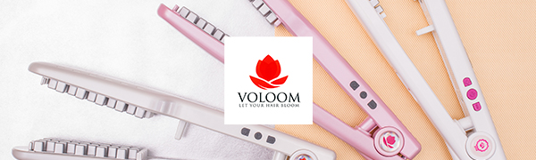 Voloom hair volume tool iron