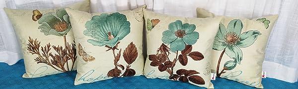 Cotton Linen Throw Pillow Case Cushion Cover
