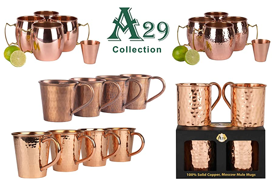 handcrafted with precision pure copper each of our moscow mule mugs