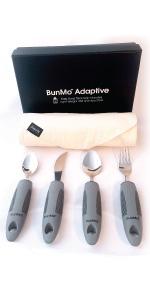 Amazon.com: BUNMO - Juego de cuchillos, tenedores y cucharas ...