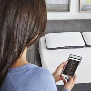Adjustable bed base with phone app split king cal king split adjustable bed base queen with mattress