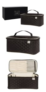 toiletry bag, toiletry bag for women, hair bags, large makeup bag, hair tool case, beauty case