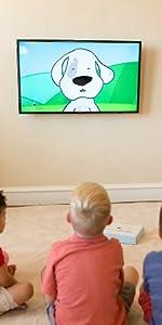 Kids Spanish Bilingual Language Learning Education Kit Entertaining Colorful Cartoon DVD