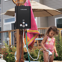 portable outdoor gas water heater
