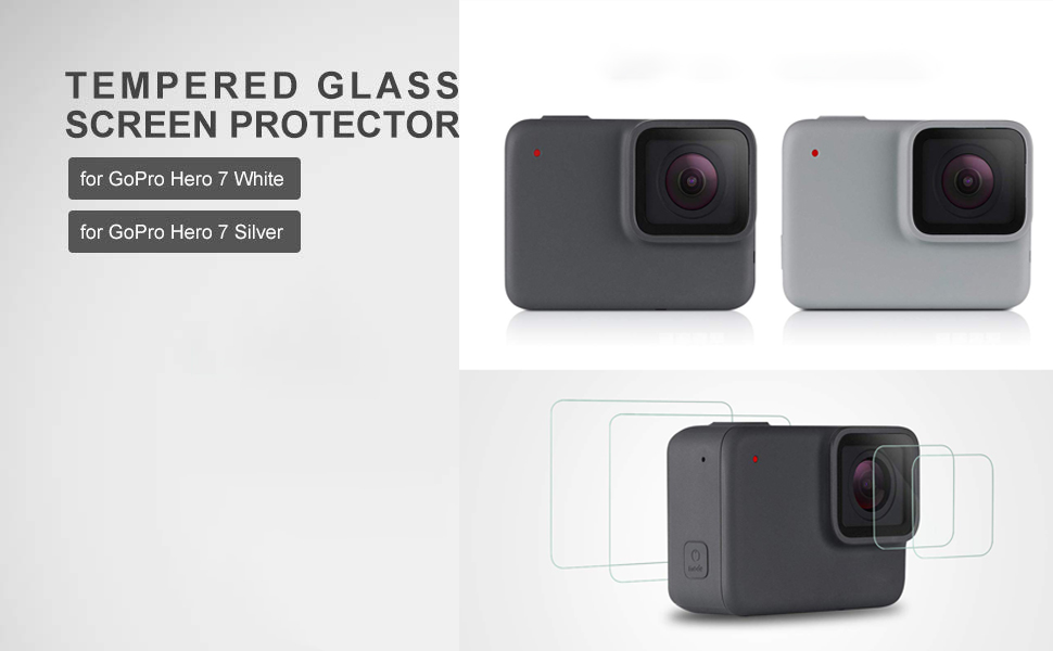Screen Protector for GoPro Hero 7 White