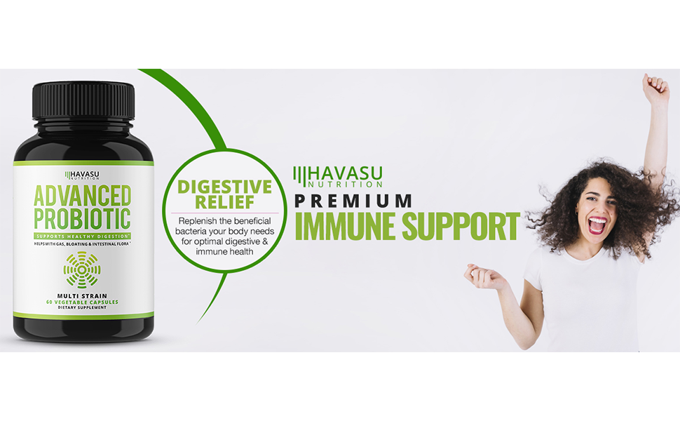probiotic immune support digestive relief