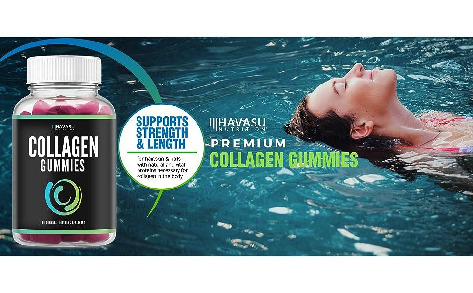 Amazon.com: Collagen Gummies Formulado para aumentar el ...