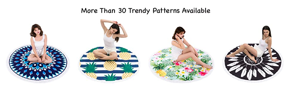 More Than 30 Trendy Patterns Available!