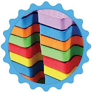Rubber EVA Foam Puzzle Play Mat Floor Interlocking playmat Crawling Baby Toddler Kids Gym Workout