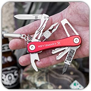 accessories organizer keyring nano wrench usb drive bottle opener spacers multi-tool flat manager