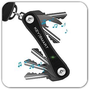 smartkey holder key rings organizer black messy bulky keyring minimalist detachable sheath gifting
