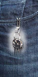 keysmart nano clip quick disconnect keychain quick release key pocket clip detachable key clip