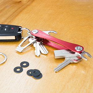 accessories organizer detachable keyring nano wrench usb drive bottle opener spacers multi-tool