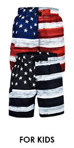 best-selling usa us flag trunks short beach sportswear workout diving swim sports apparel summer boy
