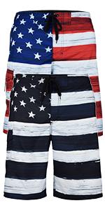 best-selling usa us flag trunks short beach sportswear workout diving swim sports apparel summer men