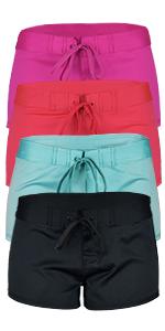 best-selling usa tie dyed trunks short beach sportswear workout diving swim sports apparel women