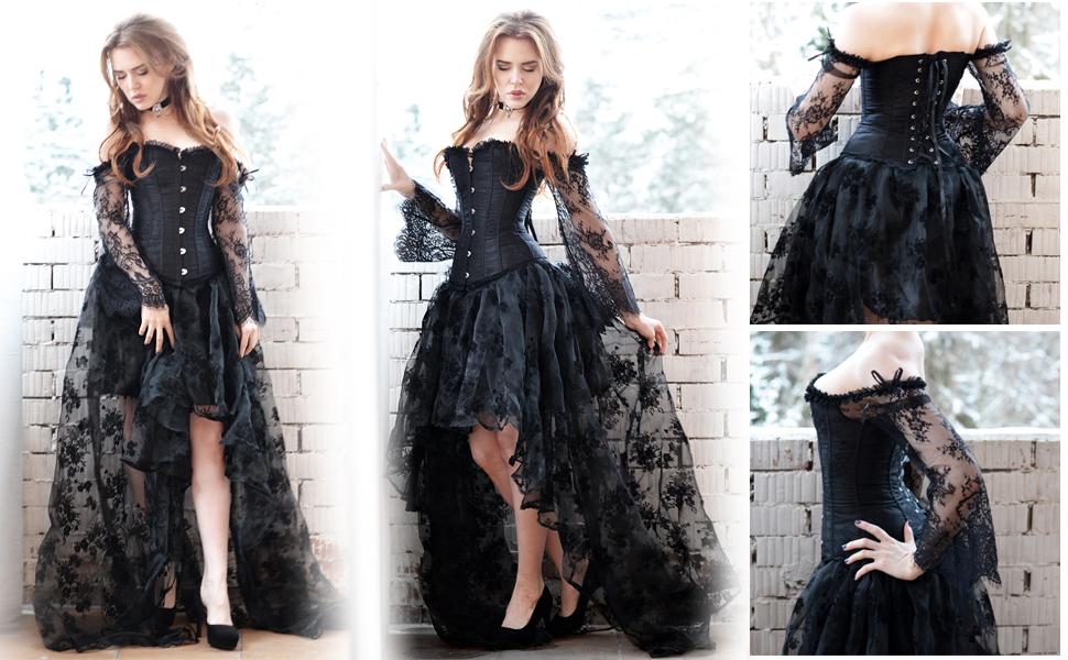 YouzhiWan007 Women Coat Autumn Black Vintage a Line Elegant winterovercoat Goth Lace up Natural Retro Solid Coats