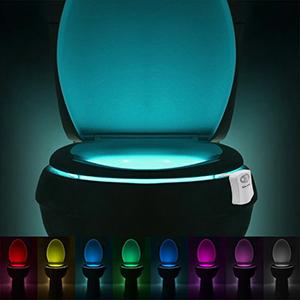 Toilet LED Light Motion Detector