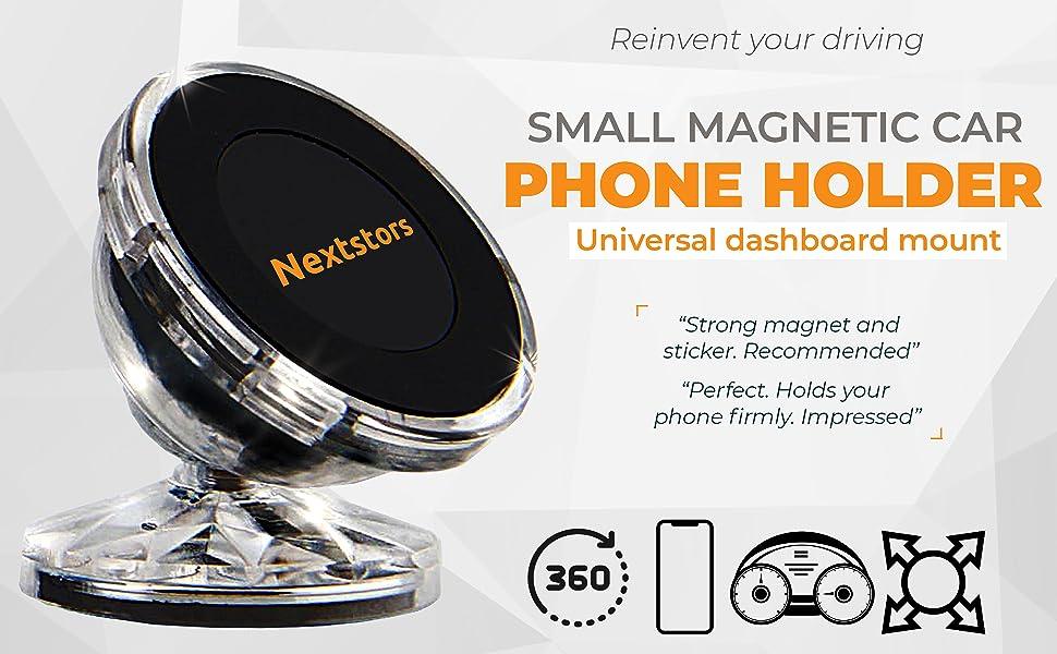 Amazon.com: Soporte magnético para teléfono de coche y ...