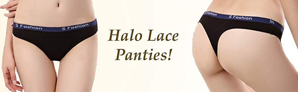 halo lace panties