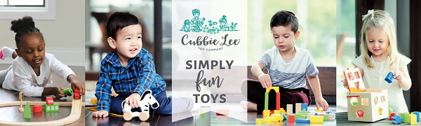 cubbie lee toys classic wooden toys for toddlers and ages 1-5
