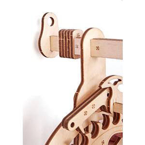 pendulum wall clock, 3d clock, 3d puzzle, wood trick, eco toys, pendulum clock, wall clock, vintage