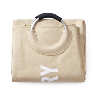 collapsible folding laundry basket hamper bag