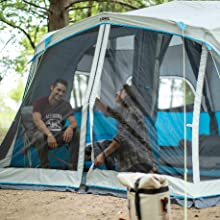 Tent, Camping, Large tent, family tent, family tent, LED tent, big tent, cheap tent, tent with light