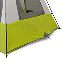 Exterior venting system on Core 12 Person Instant Tent, Stake out for airflow to cabin, large panel