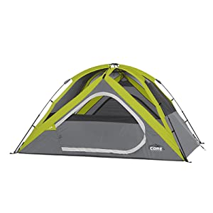 This tent is a breeze to setup! With a pre-assembled steel pole system and easy-to-follow directions this tent can be set up ...  sc 1 st  Amazon.com & Amazon.com : CORE 4 Person Instant Dome Tent - 9u0027 x 7u0027 : Sports ...