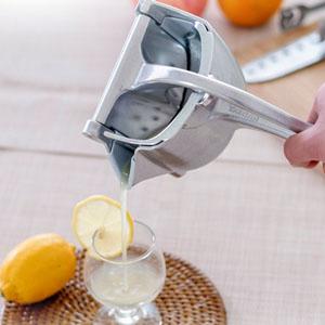 Manual fruit juicer squeezer