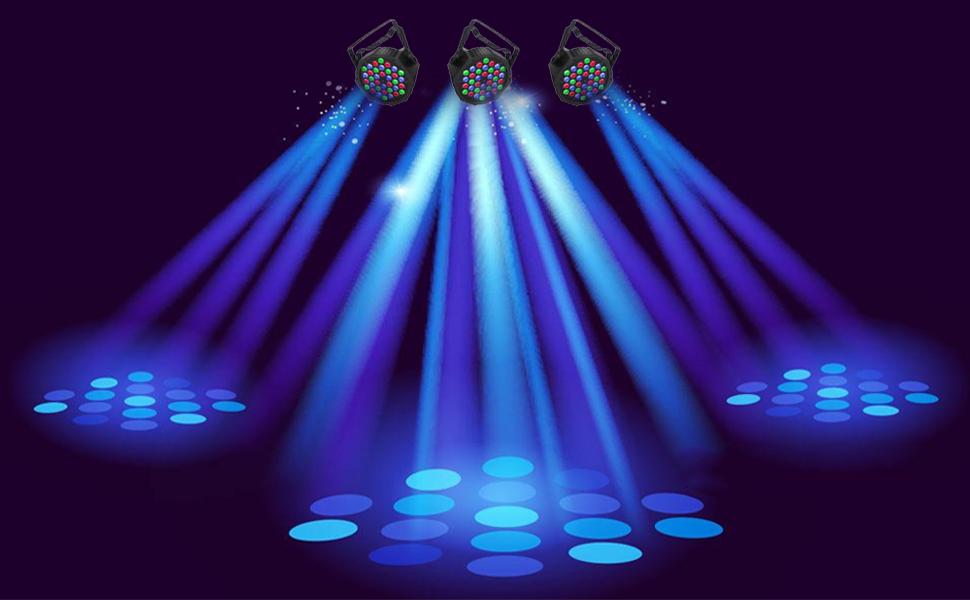 Lighting Effect For 36 LED DJ LIGHTS STAGE