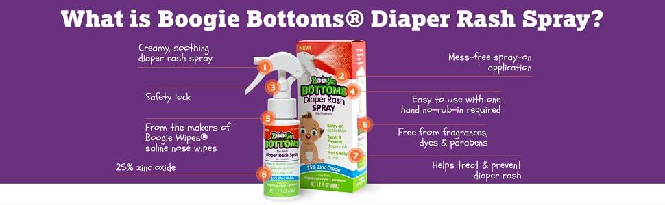 diaper rash spray, diaper rash ointment, diaper rash cream
